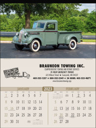 Antique Trucks Promotional Calendar 2018