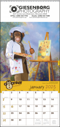 Monkey Business Promotional Calendar 2018