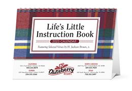 Life's Little Instruction Book Promotional Desk Calendar 2018