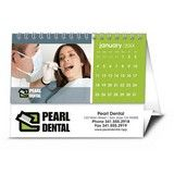 Custom Desk - Small, Twin-looped Promotional Calendar