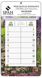 Promotional Bi-Weekly Memo Calendar 2018 - Garden