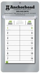 Bi-Weekly Promotional Memo Calendar - Silver