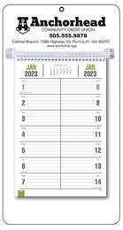Bi-Weekly Promotional Memo Calendar - White
