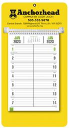Bi-Weekly Promotional Memo Calendar - Yellow