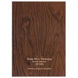 Docket Woodgrain 7 x 10 Planner Monthly