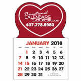 Stick-Up Calendar Heart Shape