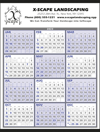 Year-At-A-Glance Promotional Calendar 2018 Size 22x29