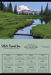 Span-A-Year Promotional Calendar 2018 - Yellowstone National Park