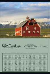 Jumbo Year In View Promotional Calendar 2018 - Summer Barn