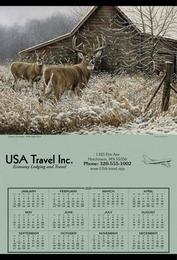 Jumbo Hanger Span-A-Year Promotional Calendar 2018 - White Tail Deer