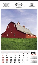 Vertical Hanger Promotional Calendar 2016 - Summer Barn