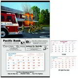 Fire Hanger Promotional Calendar 2016 - Fire Department