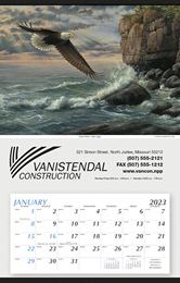 Large Hanger Promotional Calendar 2016 - Bold Eagles