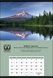 Jumbo Promotional Calendar - Yellowstone National Park