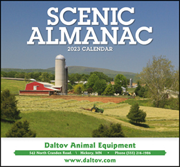 Scenic Almanac Promotional Calendar 2018