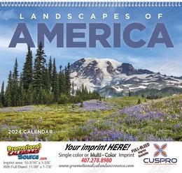 Landscapes of America Promotional Calendar 2018 Spiral