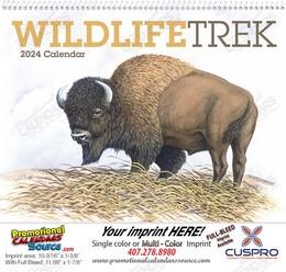 Wildlife Trek Promotional Calendar 2018 Spiral