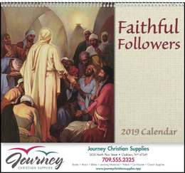 Faithful Followers - Promotional Calendar 2018 Spiral