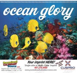 Ocean Glory Promotional Calendar 2018 Spiral