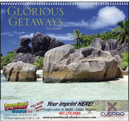 Glorious Getaways Promotional Calendar 2018 Spiral