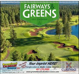Fairways & Greens - Promotional Calendar 2018 Spiral