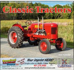 Classic Tractors Promotional Calendar 2018 Spiral