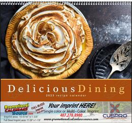 Delicious Dining - Promotional Calendar 2015 Spiral