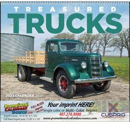 Treasured Trucks - Promotional Calendar 2018 Spiral