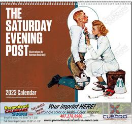 The Saturday Evening Post Promotional Calendar 2018 Spiral