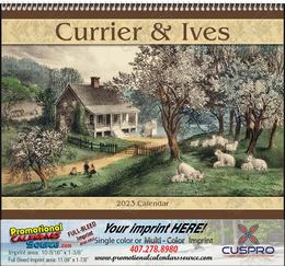 Currier & Ives Promotional Calendar 2018 Spiral