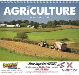 Agriculture - Promotional Calendar 2018 Spiral