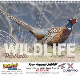 Wildlife Portraits Promotional Calendar 2018 Spiral
