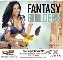 Fantasy Builders - Promotional Calendar 2018 Spiral