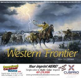 Western Frontier Promotional Calendar 2018 Spiral