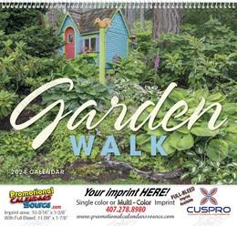 Garden Walk - Promotional Calendar 2018 Spiral