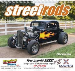 Street Rods - Promotional Calendar 2018 Spiral