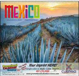 Mexico - Promotional Calendar 2018 Spiral