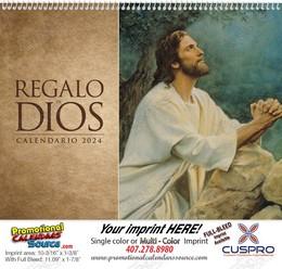 Regalo de Dios wo Funeral Pre-Planning Form Calendar Spanish