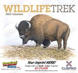 Wildlife Trek Promotional Calendar 2018 Stapled