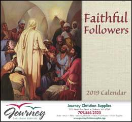Faithful Followers Promotional Calendar 2018 Stapled