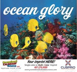 Ocean Glory Promotional Calendar 2018 Stapled