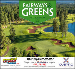 Fairways & Greens - Promotional Calendar 2018 Stapled