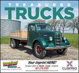 Treasured Trucks - Promotional Calendar 2018 Stapled