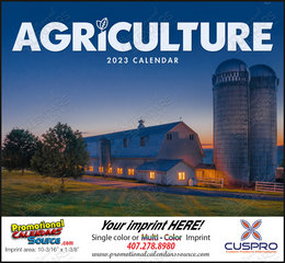 Agriculture Promotional Calendar 2018 Stapled