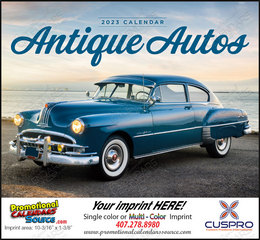 Antique Autos Promotional Calendar 2018 Stapled