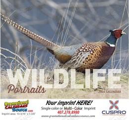 Wildlife Portraits Promotional Calendar 2018 Stapled