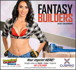 Fantasy Builders - Promotional Calendar 2018 Stapled