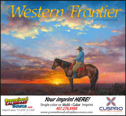 Western Frontier Promotional Calendar 2018 Stapled