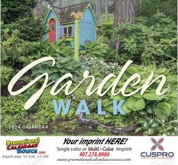 Garden Walk - Promotional Calendar 2018 Stapled