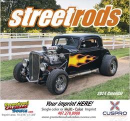 Street Rods Promotional Calendar 2018 Stapled